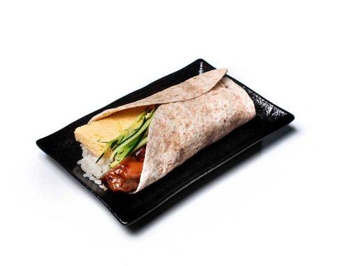 Teriyaki Chicken with Japanese Rice Wrap