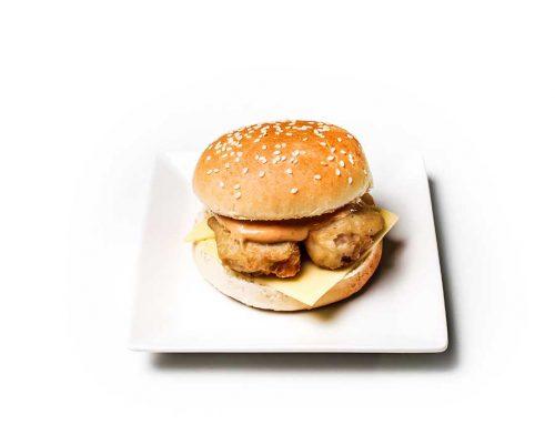 Sambal Fish Burger