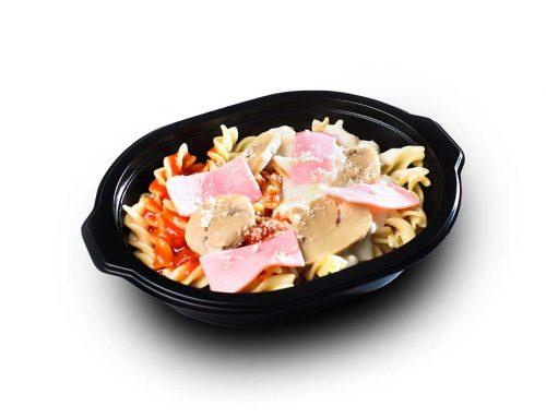 Mushroom & Ham Cream Pasta